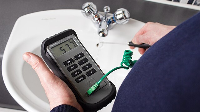 Testing Tap Water Temperature